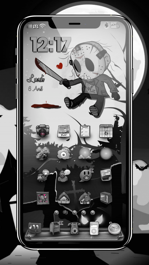 Jason Voorhees Loves The Dark - 1.2