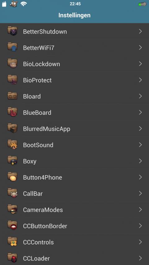 BuufJuiced Base Cydia Tweaks - 34.1