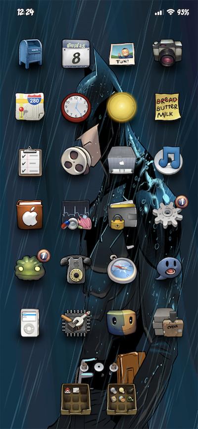 Batman in rain - 2019-03-20