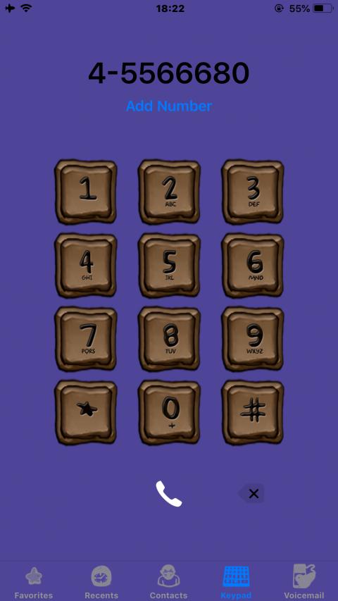 Brown Squares iOS11 - 2019-05-14