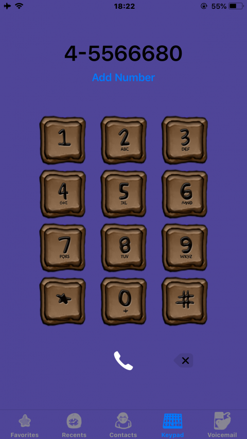 Brown Squares iOS12 - 2019-05-14
