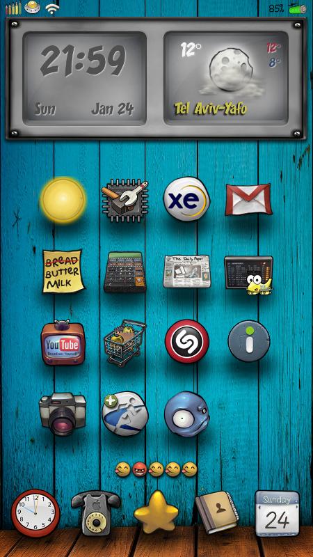 BuufJuiced Base Icons - 62.5