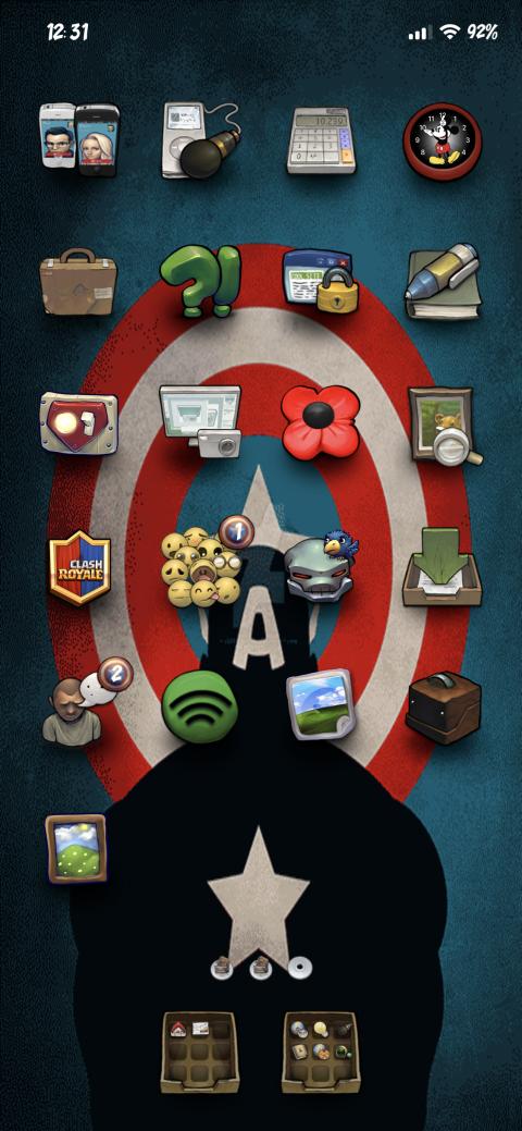 Captain America (iPX) - 2019-03-20