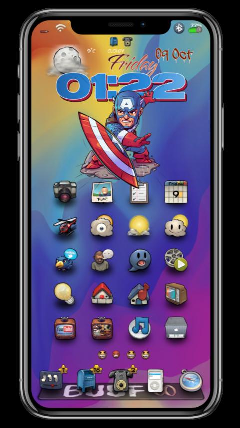 Captain America to the rescue - 2019-03-19