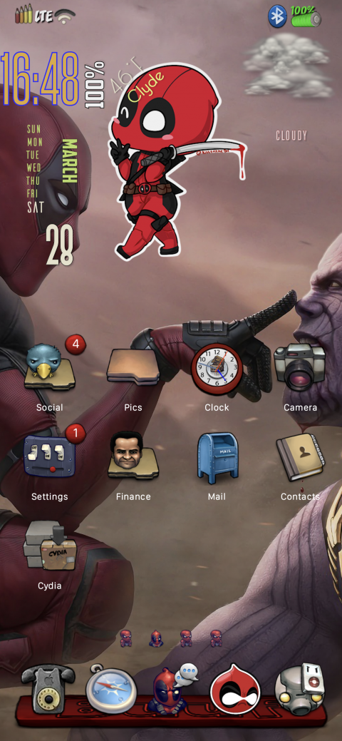 Docks - Buufy Red (XDevices - Non-Anemone) - 1.3