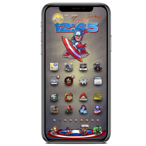 Docks - Captain America Wall-Shield - 2019-04-20