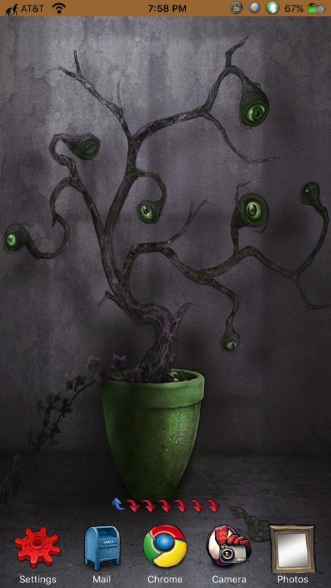 HTML - Eyeball Tree GreenPot iPhX (ClassicDock ed.) - 2019-03-26