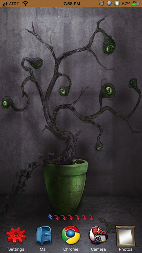 HTML - Eyeball Tree GreenPot iPhX (ModernDock ed.) - 2019-03-26