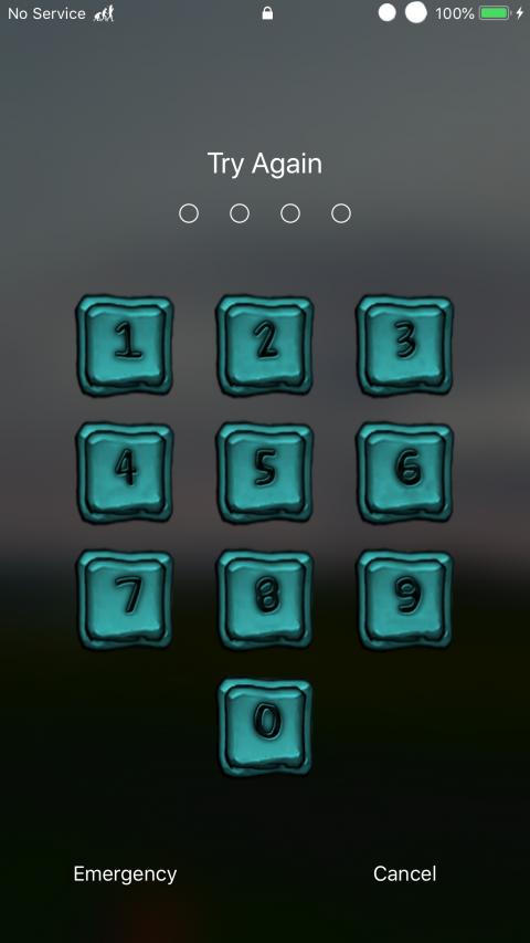 Neon Squares iOS11 - 2019-05