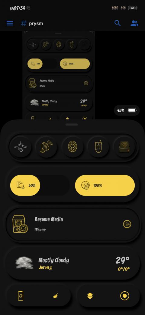 Prysm - BuufJuiced Iconspack - 1.4