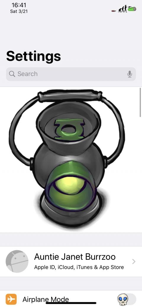 Settings Avatar - Green Lantern 2(XR) - 1.2