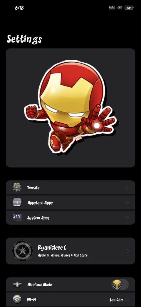 Settings Avatar - Iron man mini - 1.1