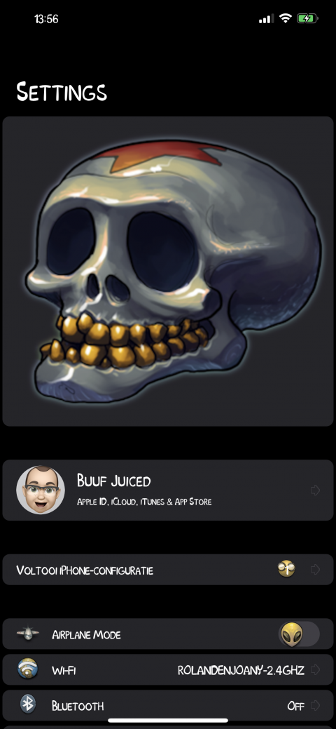 Settings Avatar - Skull - 2.9