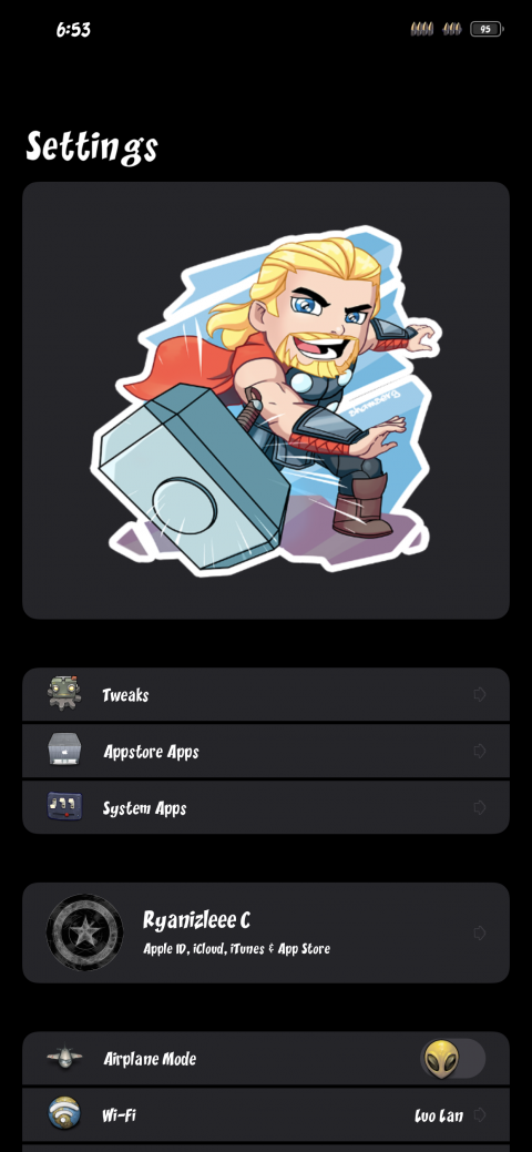 Settings Avatar - Thor Hammer Time - 1.1