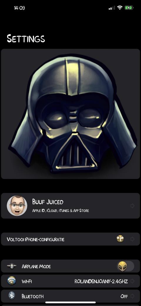 Settings Avatar - Vader - 2.9