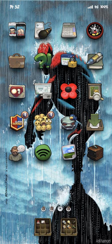 Spiderman More Rain (iPX) - 2019-03-20