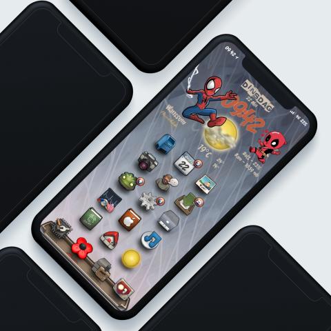 Spidey & Deadpool date - 2019-03-19