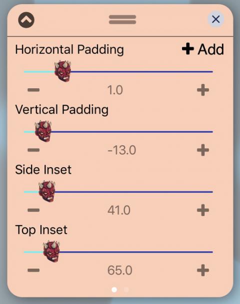 UISlider - Darth Maul (iOS12) - 2019-05-21