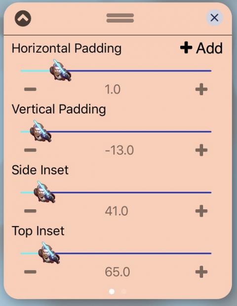 UISlider - Obiwan Kenobi (iOS12) - 2019-05-21