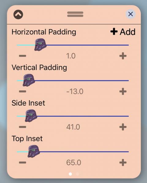 UISlider - Shadow Trooper (iOS12) - 2019-05-21