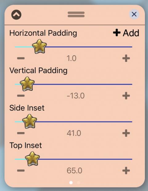UISlider - Star (iOS12) - 2019-05-21