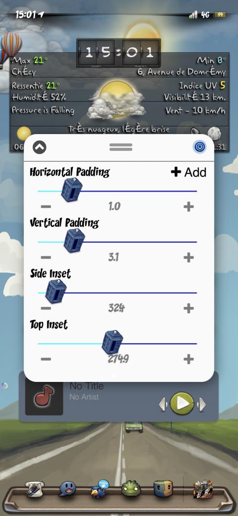 UISlider - Tardis (iOS12) - 2019-05-21