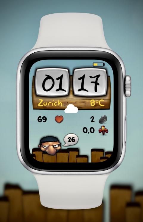Watch Face FlipClock Buuf - 2.0