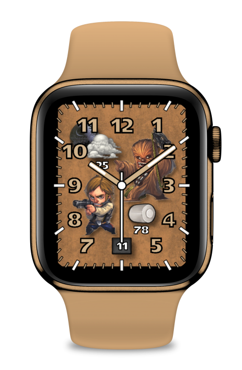 Watch Face Han and Chewie - 2.0