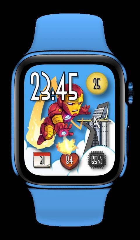 Watch Face Iron Man - 2.0