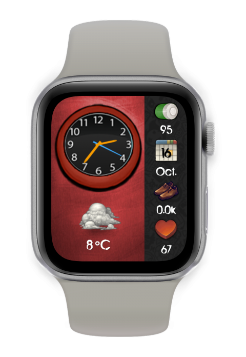 Watch Face Scarch takes it old skool - 2.0