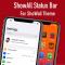 ShoWall Status Bar -