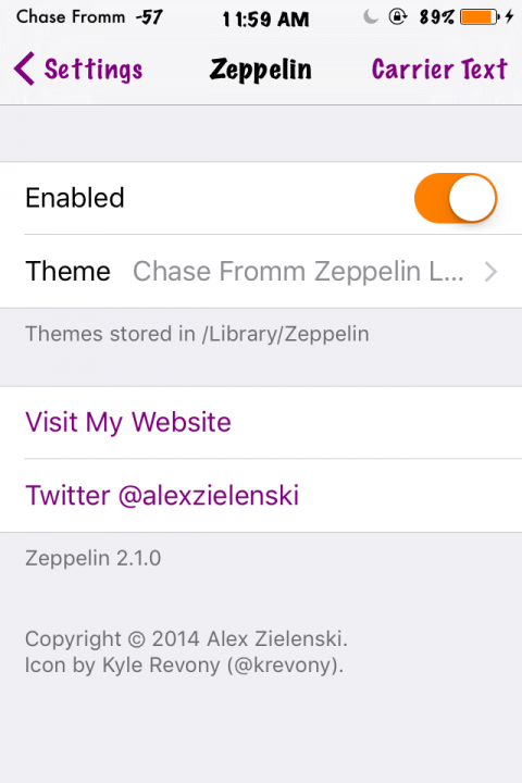 Chase Fromm Zeppelin Logo - 1.0-2