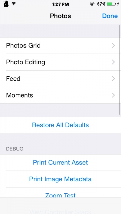 InternalSettings11 (for iOS 11) - 2.0-release