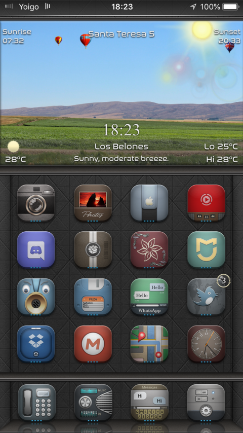 Arc Top SB widget - 1.1