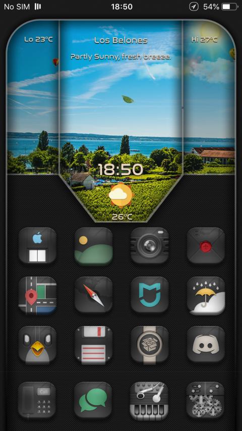 Dark Desire2 SB widget - 1.0