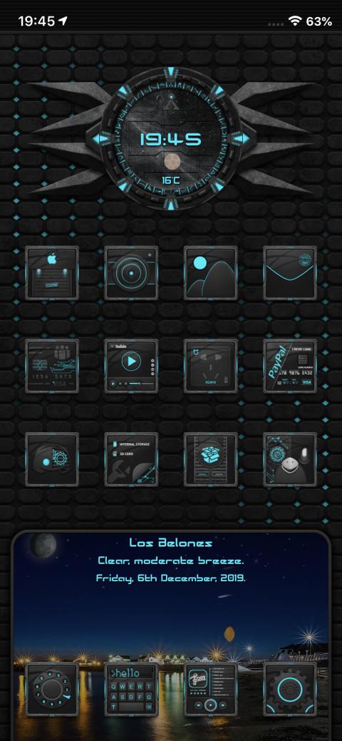 Evolution SB clock widget - 1.2