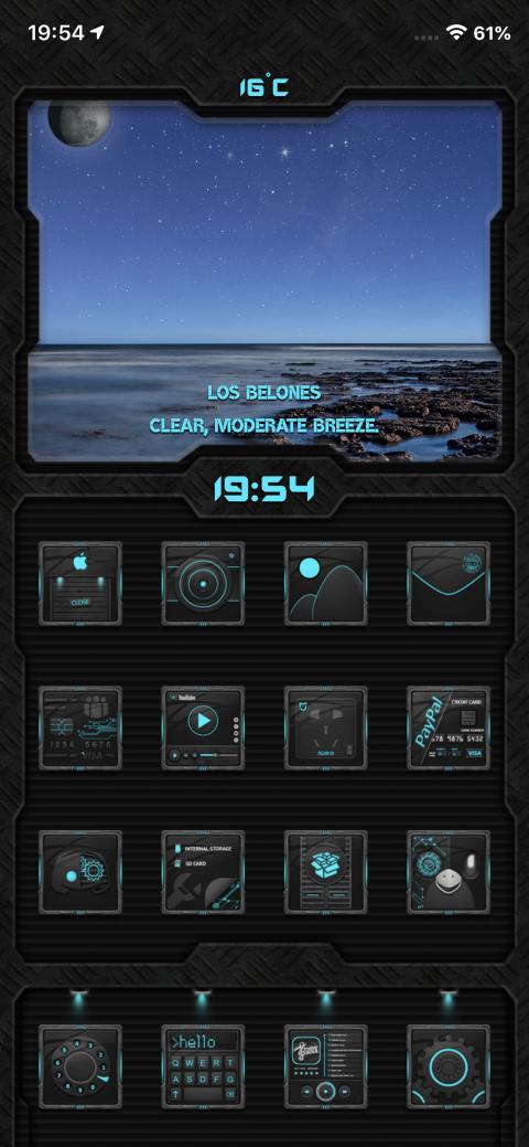 Evolution SB widget - 1.2