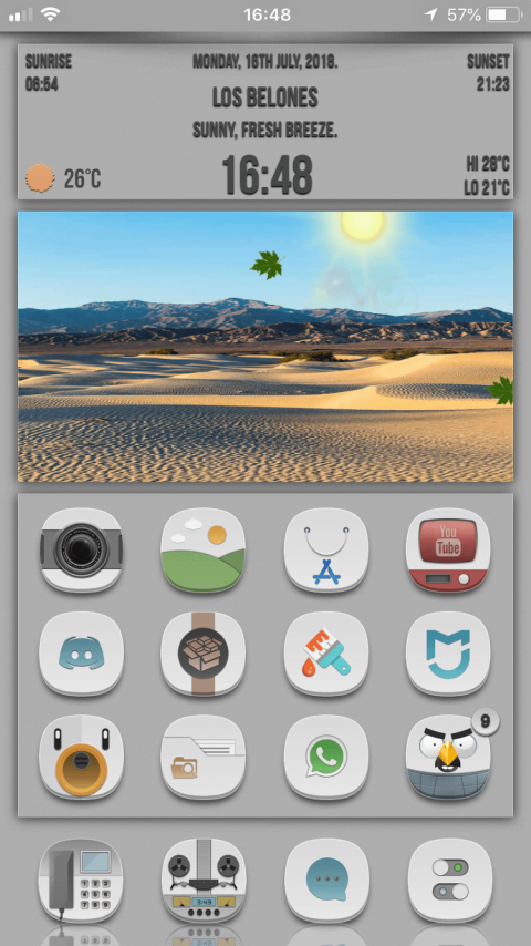 White Moon SB Widget - 1.1