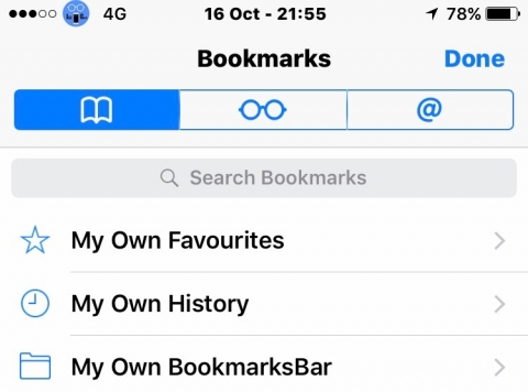 myBookmarkSelfView - 1.1