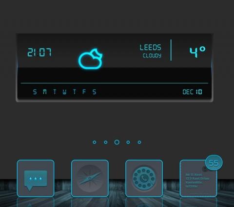 Cerulean Xen Info Widgets - 1.1