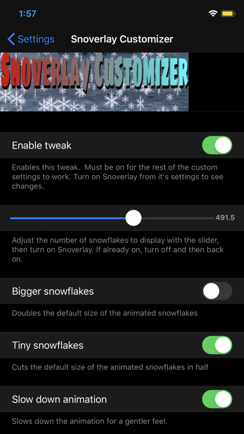 Snoverlay Customizer - 1.0.3