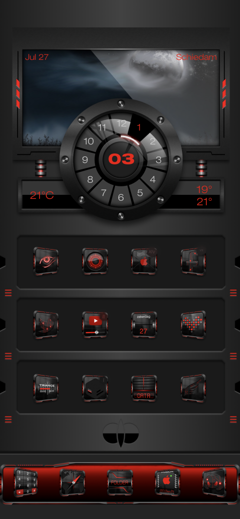 Fusion Red Dock - 0.0.7