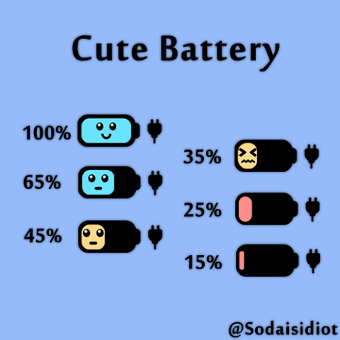 [Alkaline]Cute Battery - 1.4