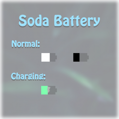 [Alkaline]Soda Battery(5.5) - 1.1