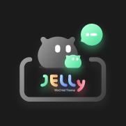 JellyDark WeChatTheme(暗黑版微信主题) - 1.02