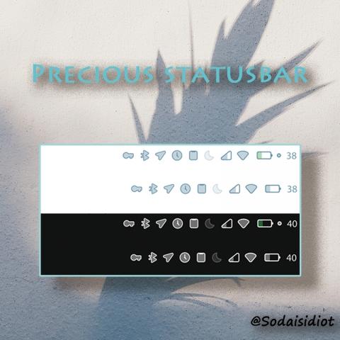 Precious StatusBar - 1.3
