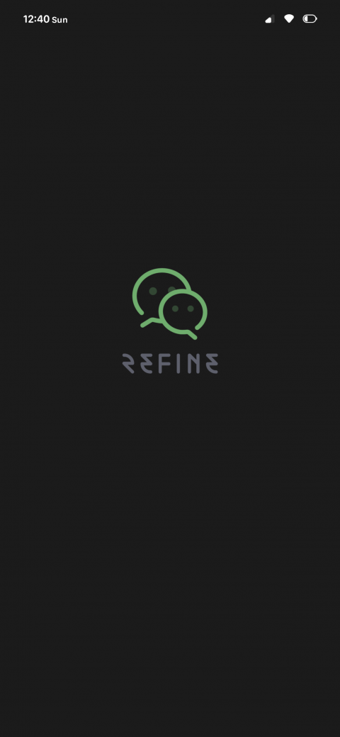 RefineDark WeChatTheme(暗黑版微信主题) - 1.01