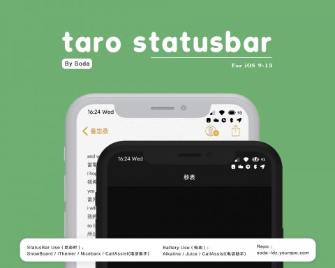 Taro StatusBar - 1.31